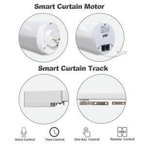 Image 4 - Wifi Smart Automatische Gordijn Control System Smart Leven Gemotoriseerde App Remote Voice Control Gordijn Motor Track Rail