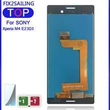 Écran LCD de remplacement pour Sony Xperia M4 Aqua E2303 E2306 E2353 E2312, panneau en verre