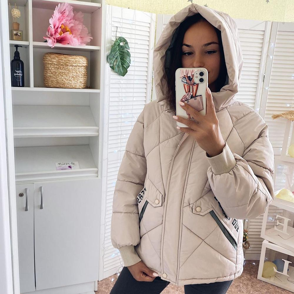 Winter women Parkas 2020 casual thicken warm padded jackets coat Female solid styled outwear snow jacket -5 to -10C wear S-3XL(China)