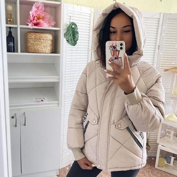 Winter women Parkas 2020 casual thicken warm padded jackets coat Female solid styled outwear snow jacket -5 to -10C wear S-3XL