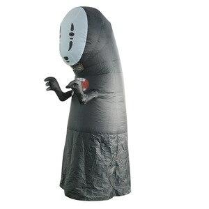 Image 5 - Disfraces inflables sin rostro para hombre y mujer, Cosplay para adulto, mujer, Halloween, actuación de fiesta, Club, disfraces inflables