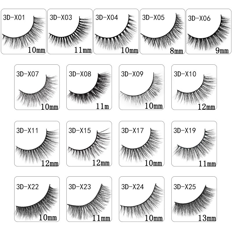 Image 2 - 300 boxes free shipping-in False Eyelashes from Beauty & Health