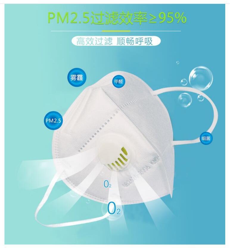 Maska zapewnia filtracje na poziomie minimum 95%.