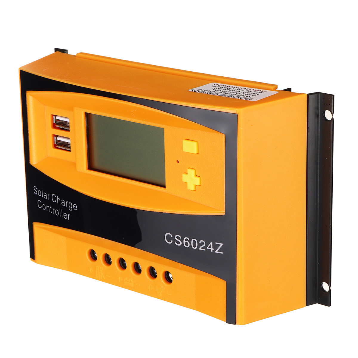 solar pwm carregador solar controlador duplo usb controlador de carga solar