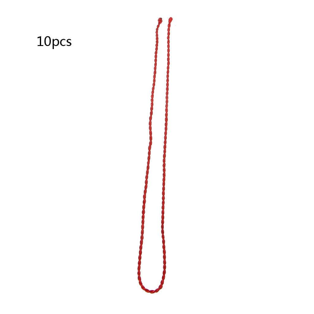 10PCS Kabbalah Corda Vermelha Cordão Corda Descobertas Jóias DIY Colares Étnico Vermelho W2952001