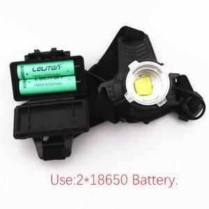 Image 5 - Linterna frontal LED XHP  P71 recargable por USB, superbrillante, con ZOOM, para pesca