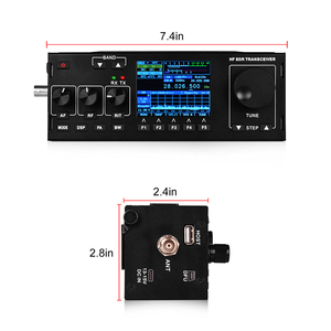Image 4 - SOcotran RS 978 SSB hf SDR radio HF ham Transceiver 1.8 30MHz 10Watt ham sdr radio hf with 3800mAh Li ion Battery Pack