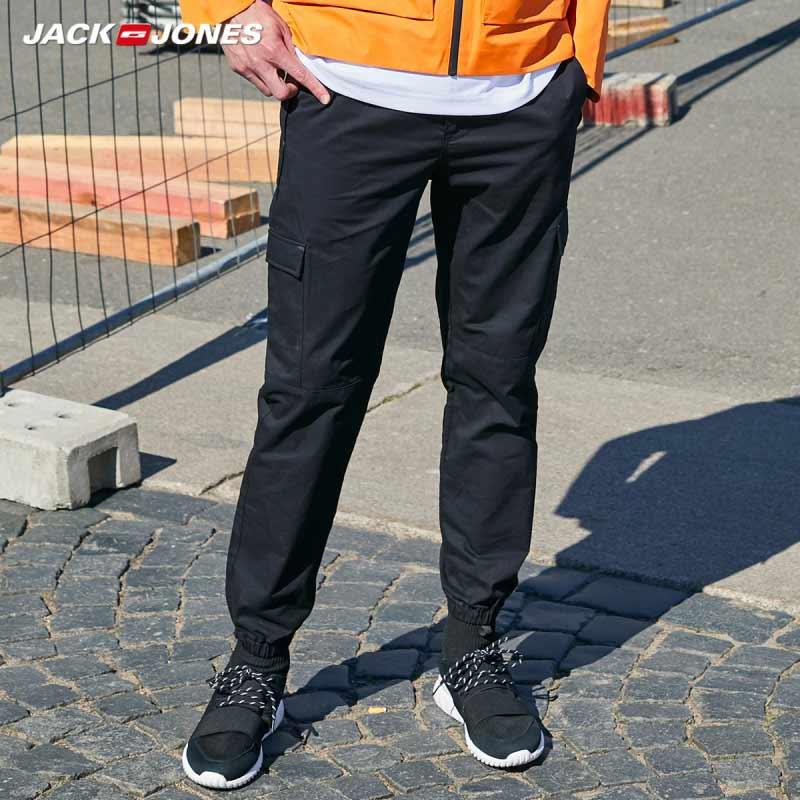 JackJones Men's Streetwear Cargo Stretch Casual Pants Fashion JackJones Menswear 219314573