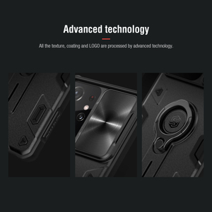 Image 4 - for Samsung S21 Plus Note 20 Ultra Case Nillkin Armor Impact Resistant Slide Camera Lens Protect Cover for Galaxy Note20 S20 FE