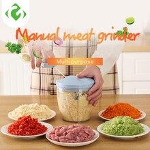 Juicers Meat-Grinder Food-Processors-Food Vegetable Manual Mincer-Mixer Chopper Blender-To-Chop-Meat