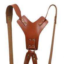 Tracolla per fotocamera in pelle, accessori per telecamere di sicurezza, adatta per i fotografie PUO88