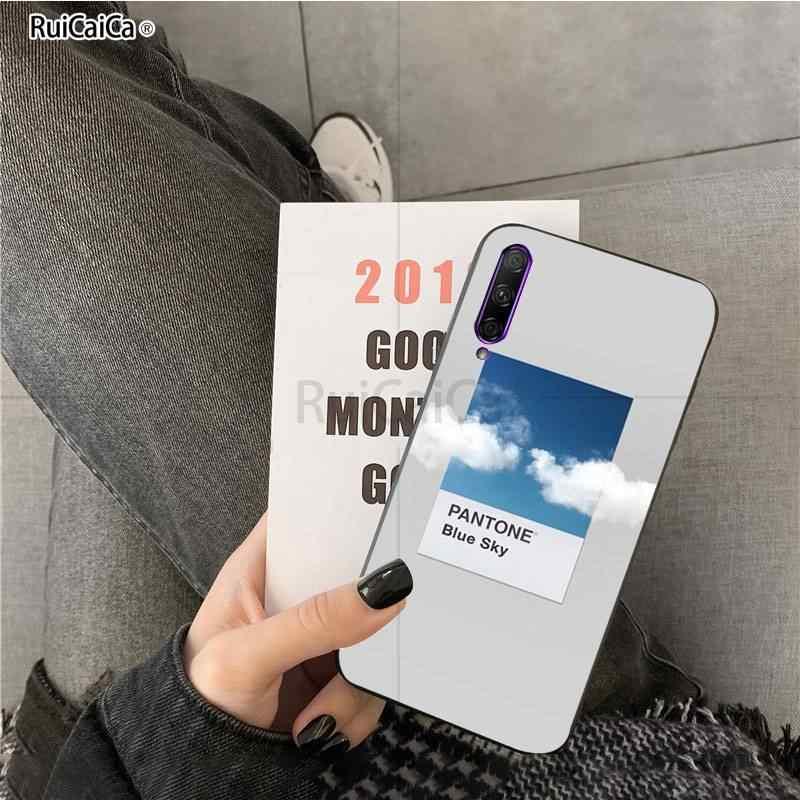 Vingate Vincent Pantone ความงาม Art Soft ซิลิโคน TPU ฝาครอบโทรศัพท์สำหรับ Huawei Y7pro Y9 2018 Y6 Y7 PRIME Y6pro 7A กรณี