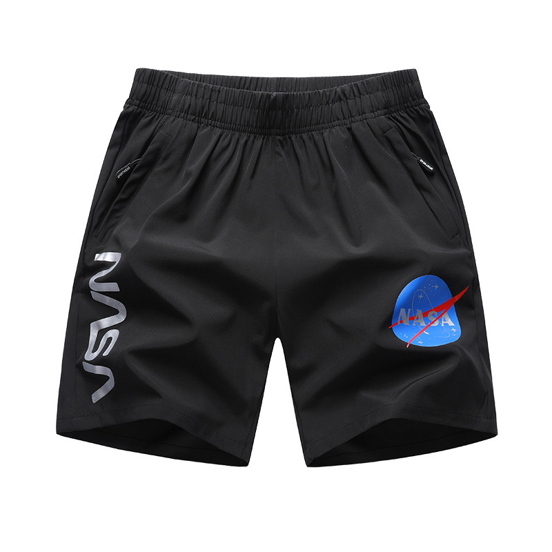 Plus-sized Menswear Beach Sports Casual Exercise Shorts Chinese Style Shorts NASA Joint Loose And Plus-sized 8X
