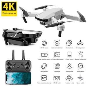 S62 Folding UAV Dual Camera HD Four Axis Aircraft Remote Control Folding Drone Quadcopter Aerial Photography Air Aircraft Toys