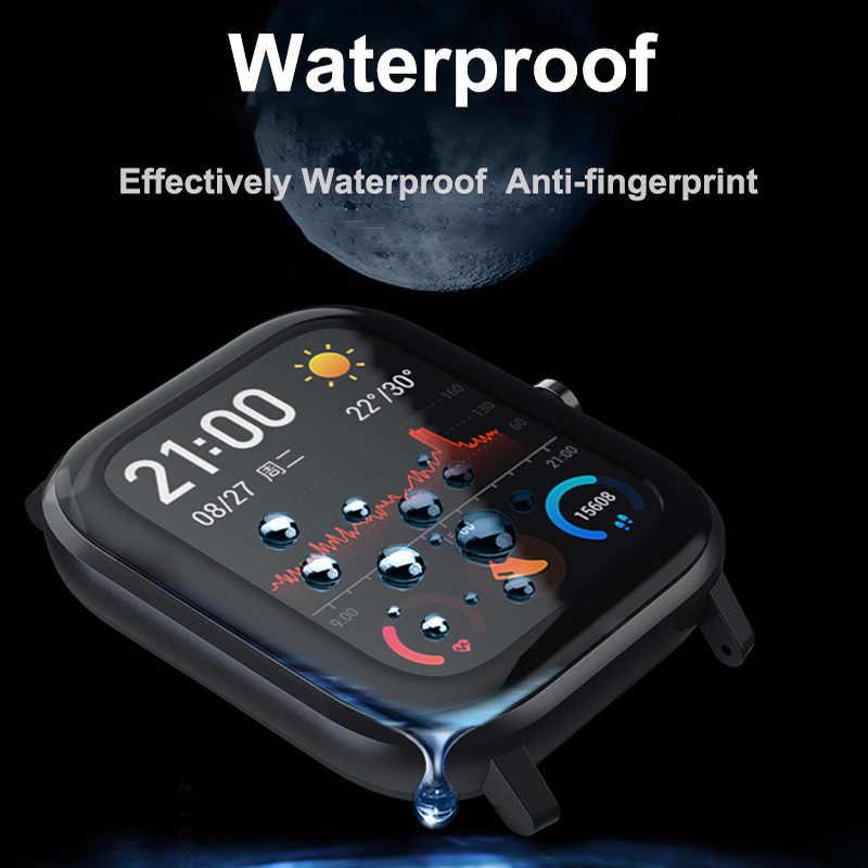 Pellicola Amazfit GTS per Xiaomi Amazfit GTS pellicola protettiva in fibra di vetro pellicola protettiva ultrasottile full Cover HD TPU per accessori