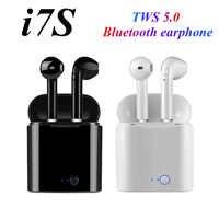 I7s TWS 5.0 Bluetooth earphone Stereo wireless headphones HIFI sound sports earphones Handfree gaming headset For iphone Samsung