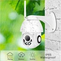 Recentemente câmera de segurança hd 1080 p 7 led mini wifi dome ip câmeras visão noturna detecção movimento cor cheia 999|Câmeras de vigilância| |  -