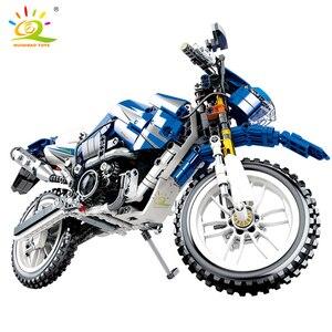 Image 4 - 799 шт., Детский конструктор «мотоцикл»