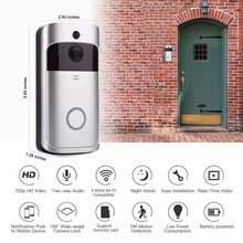 Smart IP WIFI Doorbell Video Intercom WI-FI Door Phone Door Bell  For Apartments IR Alarm Wireless Security Camera