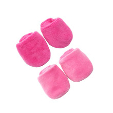 2021 Cute Plush Indoor Slippers New Born Baby Doll Shoes for 18