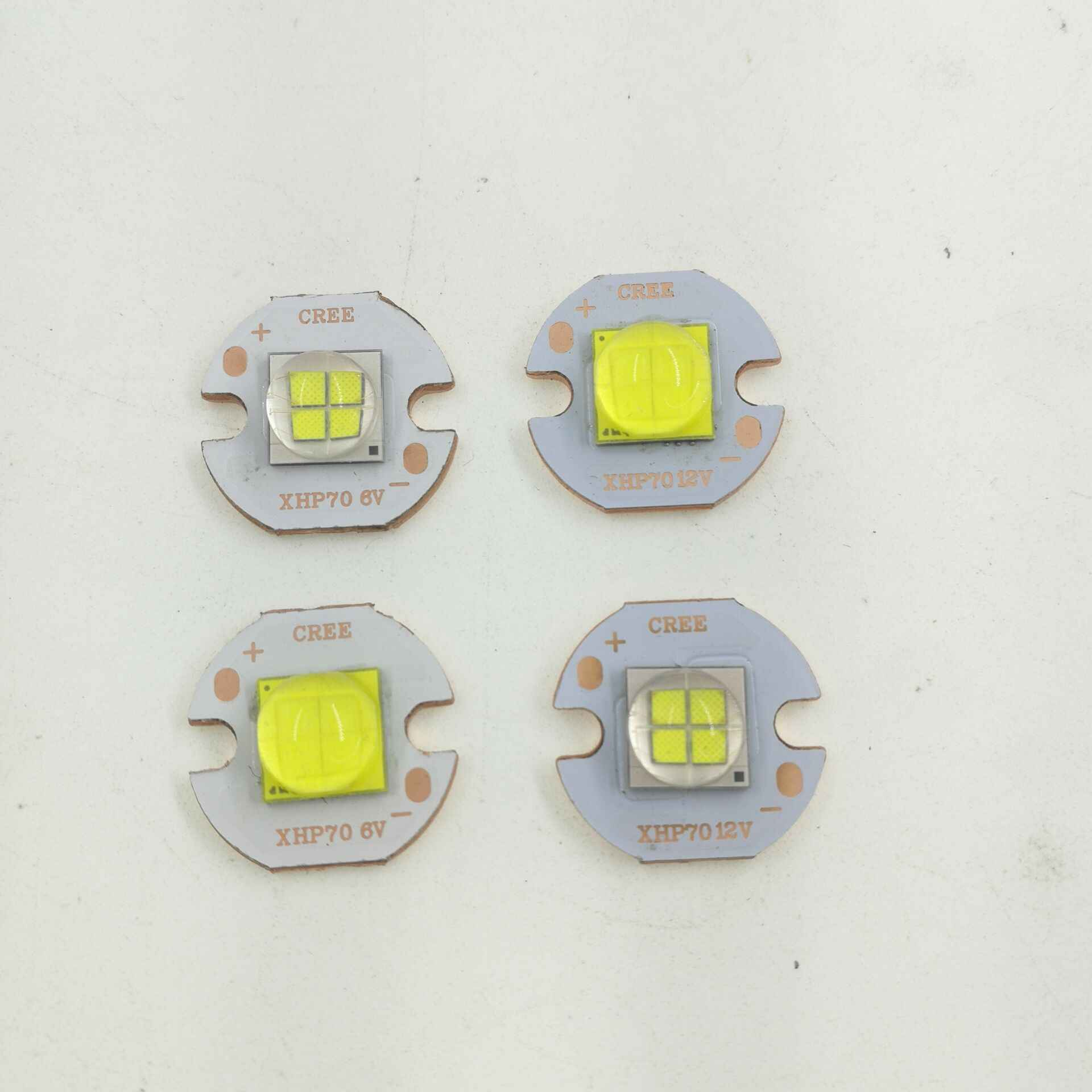 Epileds 7070 20W 12V 6V Led wymień Cree MKR XHP70 XHP50 LED emiter 6500K Chip LED