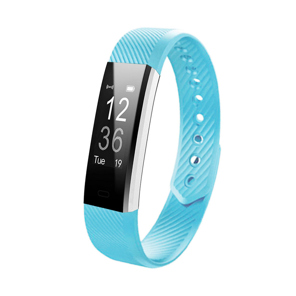 Soft Colorful Silicone Bracelet Replacement Watch Strap Wrist Band Wriststrap For ID115 ID115 Lite ID115 Fitness Tracker Strap