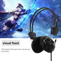 3.5mm Stereo Wired Gaming Headset Headband Headset With Mic For PC HS1 Microphone Computer Headphone