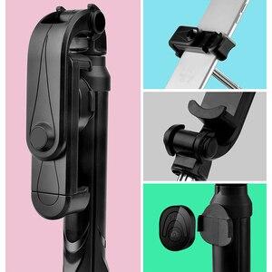 Image 4 - Селфи палка XT10 Palo 4 в 1, беспроводной складной монопод с Bluetooth для Iphone 8, 7, Xs, 11, Huawei, селфи палка