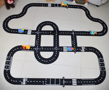 DIY PVC Puzzles Track Play Set city Road toy Car Track pattern Baby Game Mat Floor Carpet Learning Toys Nordic Kids Room Decor