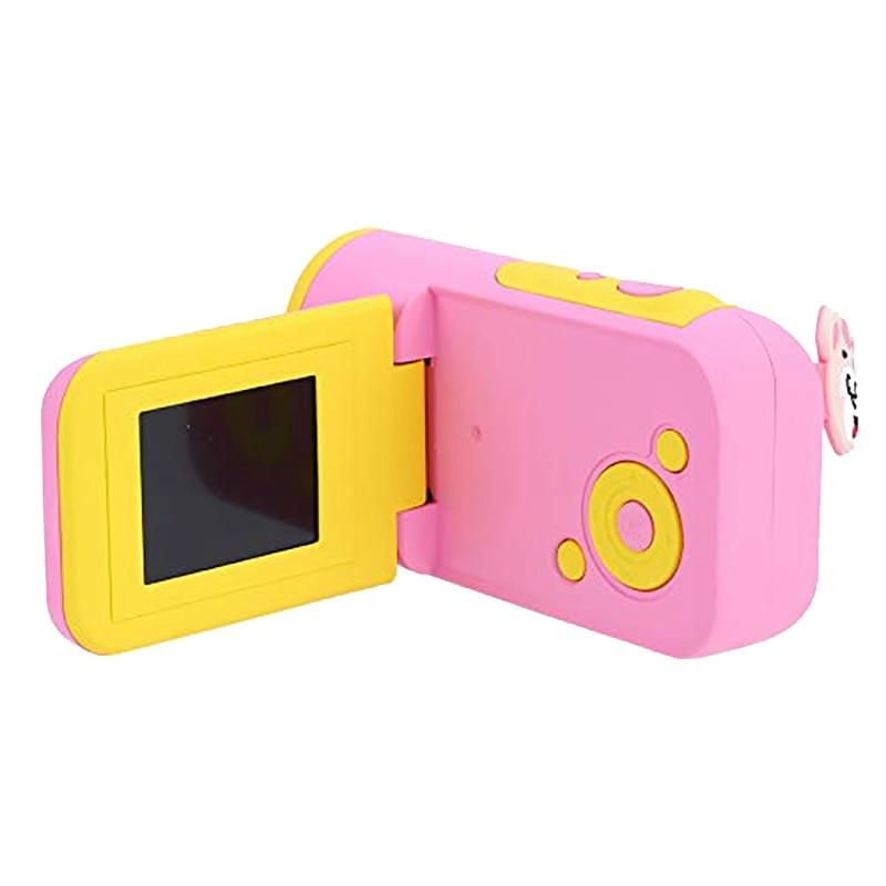 Kids Camera HD 16MP 1.77 Inch LCD Camera Recorder Kids Action Camera Camcorder DV (Pink)