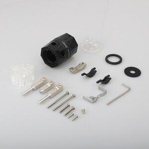 Image 5 - Viborg ve503r + vf503r 99.99% puro cobre ródio transparente chapeado schuko ue alta fidelidade cabo de alimentação áudio extensão adaptador plug