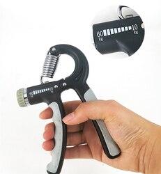 5-60Kg Adjustable Heavy Gripper Fitness Hand Exerciser Grip FatGrip Wrist Increase Strength Spring Finger Pinch Carpal Expander