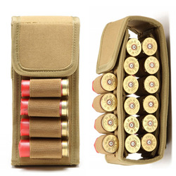 14 Round Tactical Shell Holder Ammo Bag Military Molle Waist Bag Hunting Accessories 12G Shooting Gun Cartridges Bullet Pouch