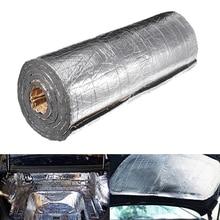 AUDEW 200cmx50cm 7mm/10mm Car Truck Firewall Heat Sound Deadener Noise Insulation Mat Wool Car Heat Sound Thermal Proofing Pad