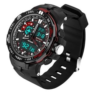 Image 5 - 2020 Nieuwe Militaire Heren Digitale Horloge Waterdicht Sport Horloge Mannen Multifunctionele S Shock Klok Mannelijke