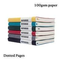 Dot Grid Bullet JournalA5 Soft Cover Notebook Dotted BujoTravel Planner Diary