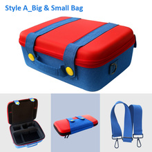 New Nintend Switch Storage Bag Mari style Colorful Protective carring case for Nintendo Switch NS Game accessories gamer gift
