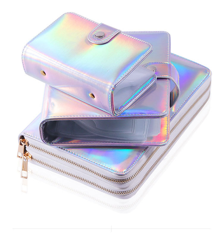 20/ 216 Slots Nail Stamping Plate Collection Holder Case Laser Style Round Rectangular Manicure Nail Art Plate Organizer NPC04