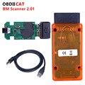 OBDIICAT B-M-W сканер 2,01 для автомобилей 1,3,5,6 и 7 серии диагностировать более новую модель, чем для PA мягкий Сканер 1.4.0
