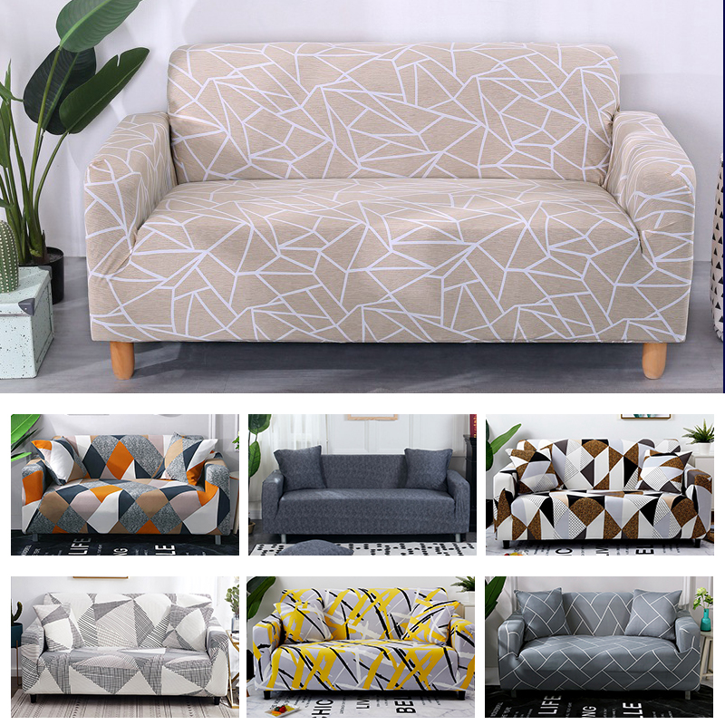 FORCHEER Printed Couch Cover with Elastic and High Density Fiber for Armchairs and Sofa of Living Room 5