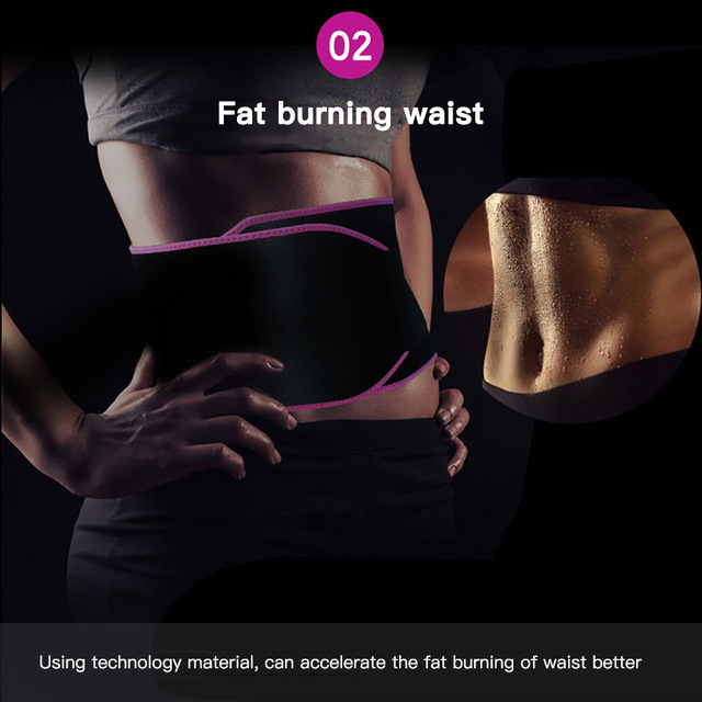 Fitness Sports Waist Belt Adjustable Colorful Sweat Waist Ventilating Slimming Belt Running Protective Accessories Weight loss 3