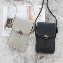 Purse Wallets Phone-Bag Women Handbag Leather Shoulder Ladies Clutch Student-Card-Holders