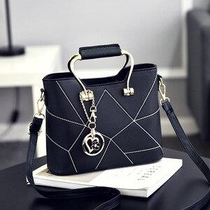 Image 1 - SDRUIAO askılı çanta kadınlar için 2020 bayanlar PU deri çantalar lüks kaliteli kadın omuz çantaları ünlü kadın tasarımcı çanta