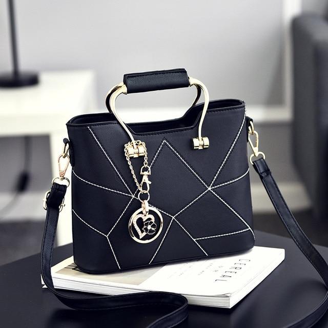 SDRUIAO askılı çanta kadınlar için 2020 bayanlar PU deri çantalar lüks kaliteli kadın omuz çantaları ünlü kadın tasarımcı çanta