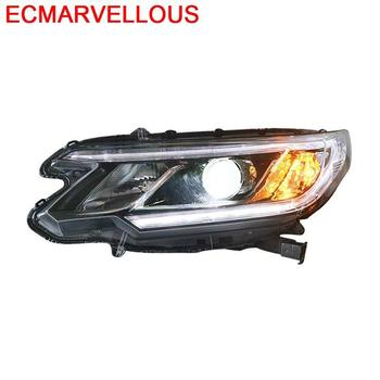 Daytime Parts Accessory Assessoires Automovil Exterior Cob Drl Running Led Headlights Car Lights Assembly 15 16 17 FOR Honda CRV
