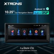 Xtrons 10.25 ''アンドロイド10カーステレオプレーヤーgpsナビゲーションrca dsp bmw 7シリーズE38 1994-2001 e39 1995-2003 M5 1999-2003 dvd