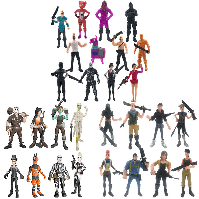 New Fortnites PVC Model Dolls Action Figure Toys Fortress Night Game Article Collection Life Decoration Children Birthday Gifts