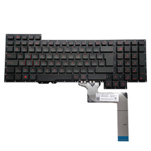 Keyboards Belgian G751JM ASUS Ovy-Be-Replacement Black for ROG G751/G751jm/G751jt/..