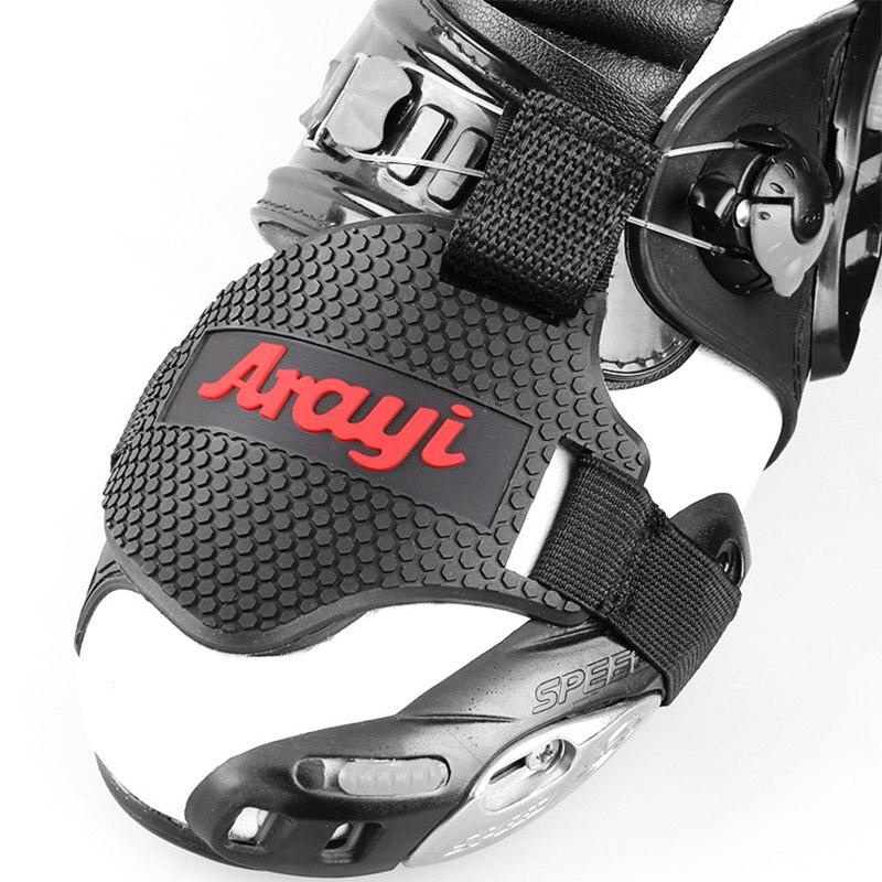 Protecteur de chaussures Chaussette pour Shifter en Caoutchouc Moto de route et Moto cross