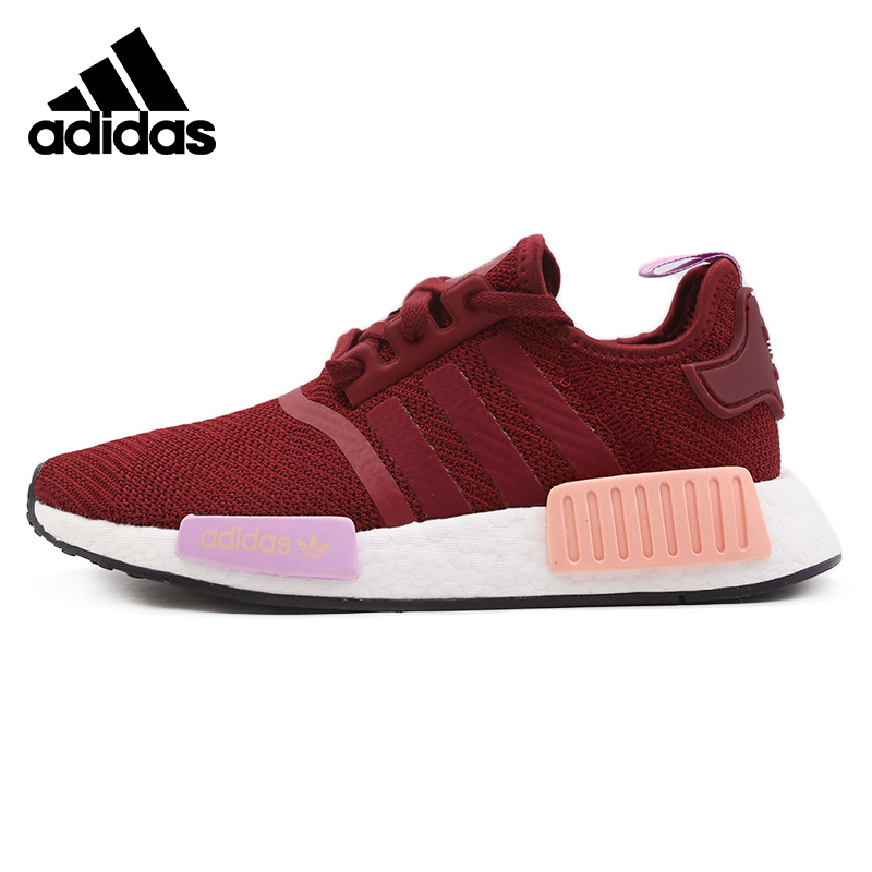 Original Nieuwe NULL Collectie Adidas Red Womens Running Windproof Shoes Comfortable Sneakers
